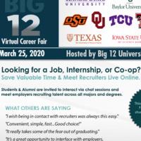 Big 12 Virtual Career Fair