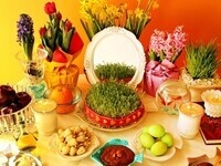 "Nowruz 99 ""Persian New Year's Table Celebrates Spring Deliciously"" (Cancelled)"