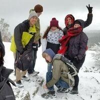 Hike to Hobart Bluff with Meditation and Yoga Club