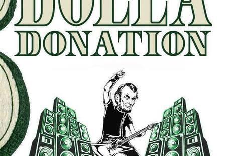 5 dolla donation band