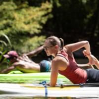 SUP Yoga & Paddling on Lady Bird Lake
