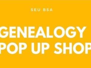 Genealogy Pop Up Shop