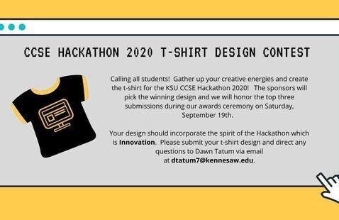 KSU CCSE Hackathon 2020 T-Shirt Design Contest