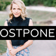 Aoife O'Donovan **postponed**