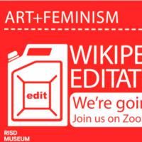 RISD Museum | Virtual Wikipedia edit-a-thon