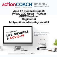 COVID-19 Webinar.  Crisis Averted - 11 Steps Your Business Must Start Today for Coronavirus Economic Panic