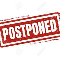 Program Postponed