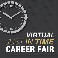 Virtual Just in Time Career Fair