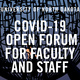 Open Forum: Faculty & Staff