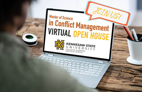Virtual: MS in Conflict Management Virtual Open House