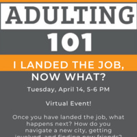 Adulting 101: I Landed the Job, Now What?