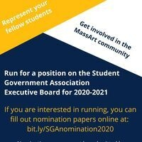 SGA Nomination Form Flyer