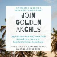 Join Golden ARCHES Peer Health Education Program
