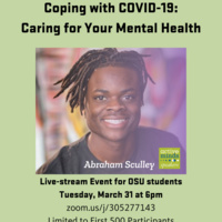 Coping with COVID-19: Caring for Your Mental Health Live Stream Event