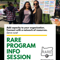 ONLINE - RARE AmeriCorps Community Info Session