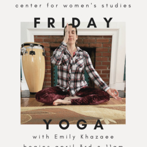 Friday Yoga with Emily Khazaee