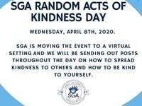 SGA Random Acts of Kindness Day