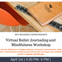 Virtual Wellbeing Wednesday: Bullet Journaling & Mindfulness