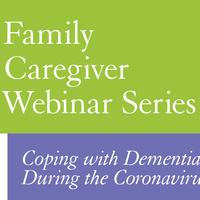 Decorative title for Family Caregiver Webinar Series