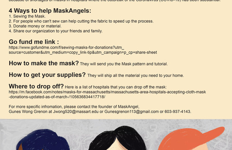 CALLING ALL VOLUNTEERS - MaskAngels Need Your Help