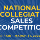 National Collegiate Sales Competition Virtual Career Fair