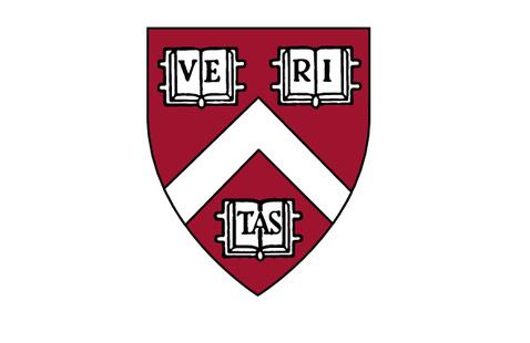 harvard college shield