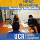 HPAC: Secondary Application Workshop
