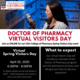 VIRTUAL EVENT: College of Pharmacy Spring Visitors Day