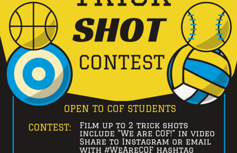 COF Trick Shot Contest Flyer