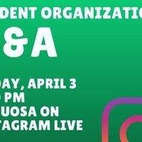 Student Organization Q&A