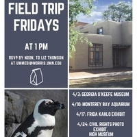 Flyer image of Field Trip Fridays