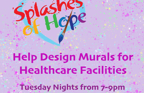 Splashes of Hope - VIRTUAL! - Help Design Murals for Healthcare Facilities