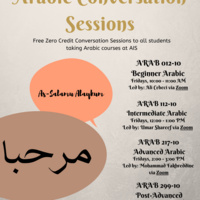 Arabic Conversation Sessions