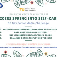 Virtual: Tigers Spring Into Self-Care