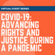 Impacts of COVID-19 on Marginalized Groups: Implications for Policy and Advocacy