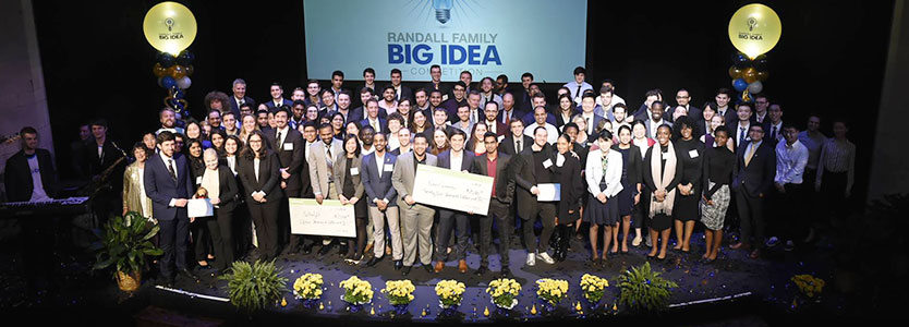 Randall Family Big Idea Competition Awards