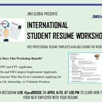International Student Resume Workshop