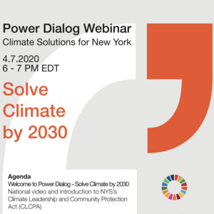 Register for the New York State Climate Change Dialog