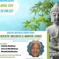 Wildcat Wellness Power Hour:  Holistic Wellness & Mindful Zones