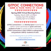QTPOC Connection: Queer and Trans People of Color