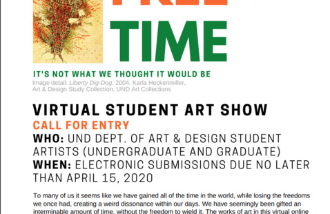 Student Art Show Call for Submissions