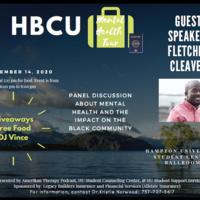 HBCU Greenroom / Hospitality