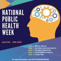Stempel College National Public Health Week 2020