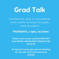 GSC Grad Talk