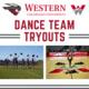 Dance team tryouts