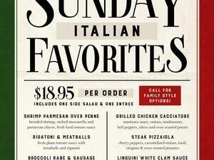 Sunday Italian Favorites