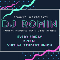 DJ Romin Quarantine Jams: Live Stream DJ Friday Nights!