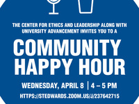 Virtual CEL/University Advancement Community Happy Hour