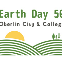 Earth Day 50 Oberlin logo
