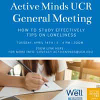 Active Minds General Meeting